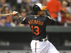 At 20 years and 35 days old, Manny Machado is the youngest Oriole ever to have a multihomer game.