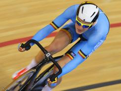Gijs Van Hoecke finished 15th in the omnium before being sent home by the Belgian Olympic Committee.
