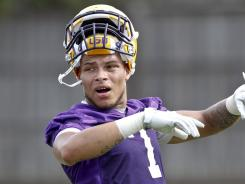 Tyrann Mathieu is considering a transfer to McNeese State after being dismissed from LSU.