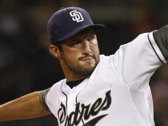 Padres closer Huston Street had converted all 21 save opportunities this season before his injury.