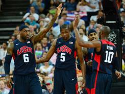 LeBron James, Kevin Durant, Kobe Bryant and Team USA look to defeat Spain in the gold medal match for the second consecutive Olympics.