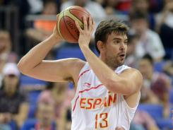 Marc Gasol and brother Pau give Spain an imposing front line in the gold medal game against the U.S.