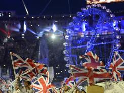 It's a celebration of the world -- but mostly Great Britain -- at the London 2012 closing ceremony.