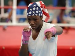 USA women's middleweight Claressa Shields from Flint, MI
