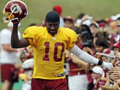 From Day 1, Robert Griffin III has given Redskins fans hope for the 2012 season.