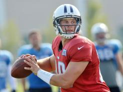Titans quarterback Jake Locker will get his shot to seize the starting job when he goes first Friday against the Buccaneers.