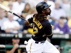 Pirates outfielder Andrew McCutchen is leading the majors with a .362 batting average -- one of the reasons he's the National League's most valuable fantasy player in 2012.