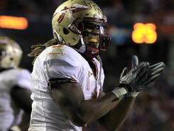 Florida State sophomore running back Devonta Freeman credits the counsel of senior Chris Thompson with helping his career develop. Both are trying to rebound from back injuries last season.