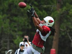 Doesn't matter who is quarterback is, Larry Fitzgerald still finds a way to make big plays for the Cardinals.
