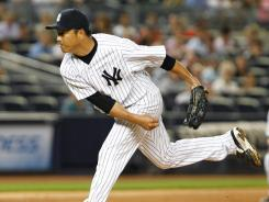 Yankees starter Hiroki Kuroda earned his fourth career shutout and second this season after holding the Rangers to two hits in the 3-0 win.