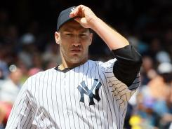 Yankees' Andy Pettitte needs time to rebuild arm strength before October if he wants to be included in the postseason.