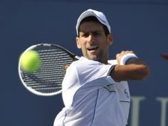 Novak Djokovic of Serbia is the defending champion at the U.S. Open.