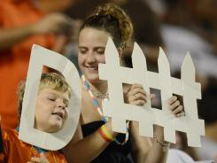 These fans seemed to be enjoying themselves, but the Dolphins' preseason game vs. the Bucs on Friday drew only 46,330.