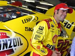 Sam Hornish Jr. has finished 16th, 19th and fifth in his last three Cup races.