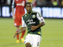 Darlington Nagbe scored in the 82nd minute of Portland's 2-2 draw with Toronto FC.