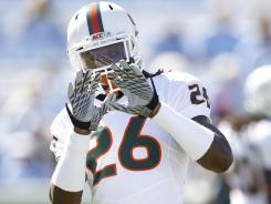 Ray-Ray Armstrong was suspended three times at Miami before moving on to Faulker University.