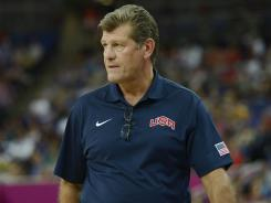 Geno Auriemma, who has led UConn to seven national titles, said coaching the Olympics was the most pressure he has ever felt.