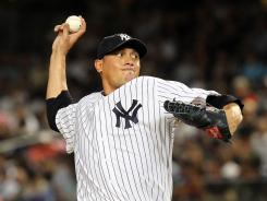 Yankees pitcher Freddy Garcia has not lost to the Rangers since 2004, going 4-0 with a 1.75 ERA in six starts coming in to Wednesday's game.