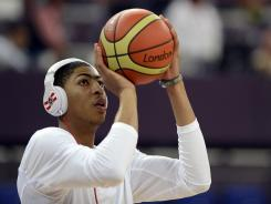 Overall No. 1 NBA draft pick Anthony Davis will begin to call upon his Olympic experience for his New Orleans Hornets team when they open their preseason schedule Oct. 7 vs. the Orlando Magic in Mexico City.