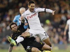 U.S. international Clint Dempsey scored 23 goals in all competitions for Fulham in the 2011-12 season.