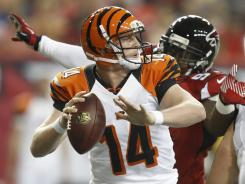 Andy Dalton went 8-of-14 for 125 yards and a touchdown as the Bengals improved to 2-0 in the preseason.