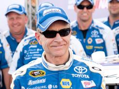 Mark Martin's Coors Light pole win was his fourth this season.