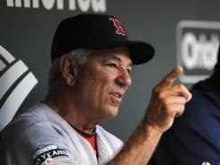 Red Sox manager Bobby Valentine says it's been a very challenging year in Boston.