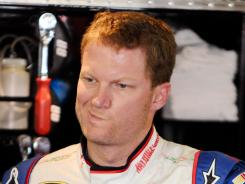Dale Earnhardt Jr. drew an angry radio tirade from teammate Jeff Gordon on a lap 74 restart of Sunday's Pure Michigan 400.