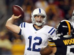 Colts quarterback Andrew Luck showed us Sunday night how he responds to adversity.