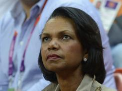 U.S. former state secretary Condoleeza Rice is one of two women that have been accepted as members at Augusta National.