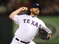 Rangers starter Ryan Dempster struck out six and allowed four hits and one run in eight innings against the Orioles.