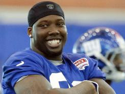 New York Giants defensive end Jason Pierre-Paul.