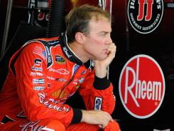 Kevin Harvick has been consistent this season but has lacked speed to hang up front. He's eighth in points.