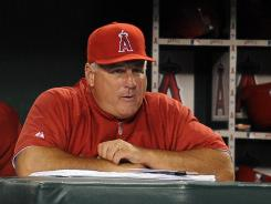 Mainstay: Mike Scioscia has been the Angels manager since 2000.