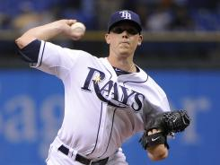 Rays starter Jeremy Hellickson allowed six hits and one run while striking out six in the 5-1 win over the Royals.