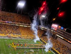 Arizona State says money generated from a potential development district would help pay for what it says are needed improvements to 54-year-old Sun Devil Stadium.