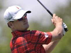 Zach Johnson, shown here at the PGA Championship, will play Rounds 1 and 2 of The Barclays with Tiger Woods and Rory McIlroy.