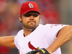 Cardinals' Jake Westbrook is 12-9 with a 3.50 ERA in 24 starts this season.