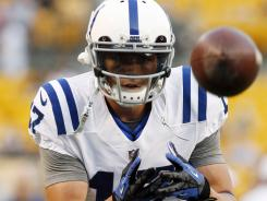 Austin Collie is slated to be the Colts' No. 2 receiver in 2012.