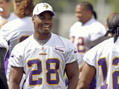 Adrian Peterson is just fine with the Vikings keeping him on the sideline for the remainder of the preseason.