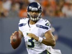 Rookie Russell Wilson has relieved Matt Flynn in the Seahawks' first two preseason games.