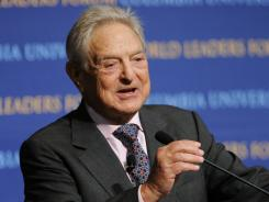 George Soros has spent some of his fortune on a minority share in the most valuable soccer club in the world.