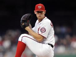 Nationals starter Stephen Strasburg earned his 15th win of the season after allowing one run and striking out 10 in Tuesday's win over the Braves.