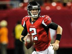 Falcons quarterback Matt Ryan had only three incompletions in 21 attempts against Cincinnati in Week 2 of the preseason. With Atlanta looking like a pass-first team, Ryan's fantasy stock is rising.