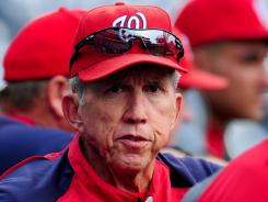 Davey Johnson, who took over as manager in June 2011, has led Washington to the best record in baseball this season.