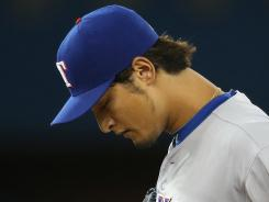 The Rangers say the move to skip Yu Darvish's start is for precautionary reasons.