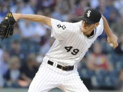 White Sox starter Chris Sale struck out 13 and limited the Yankees to one run in 7 2/3 innings to earn his 15th win of the season.