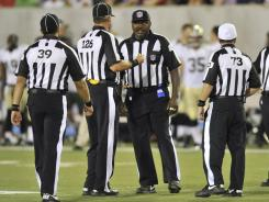 The NFL's replacement referees have drawn heavy scrutiny in the preseason.
