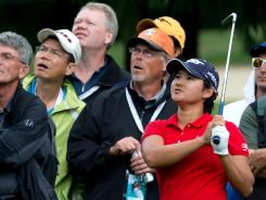 Yani Tseng, of Taiwan, is the leader after the first round of the LPGA Tour's Canadian Women's Open.