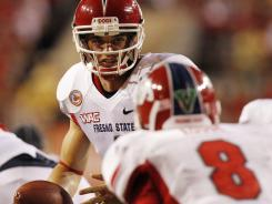 Quarterback Derek Carr is the preseason choice for Mountain West offensive player of the year in Fresno State's inaugural season in the conference.